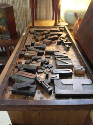 Letter Press Block Small