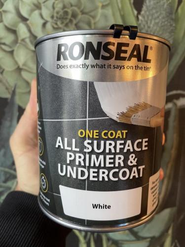 One Coat All Surface Primer/Undercoat White 750ml