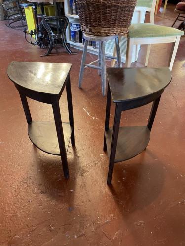 Little Corner Side Tables (Pair)