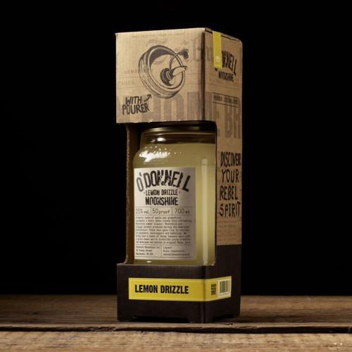 O'Donnell Moonshine 700ml Gift Set Lemon Drizzle