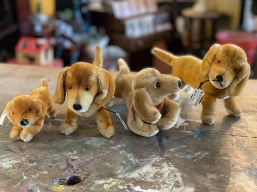 Various Vintage Steif Doggys