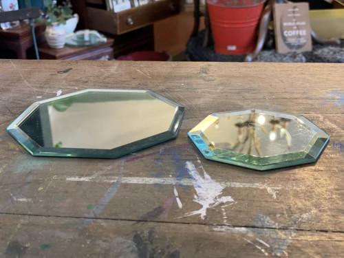 Mirrored Coasters  Small/Medium (Pair)
