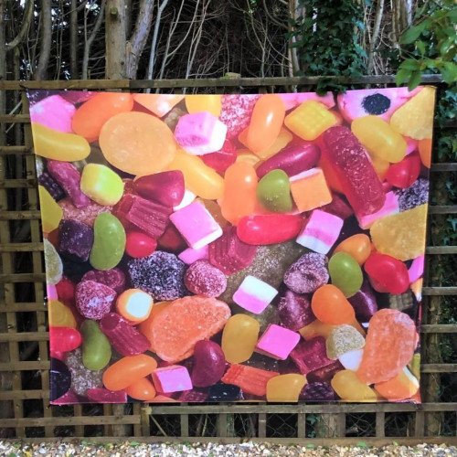 Backdrop Wall Hanging Scene Sweets