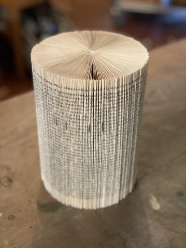 Book Page Pillar  Large