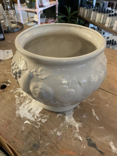 Lg Italian flower pot