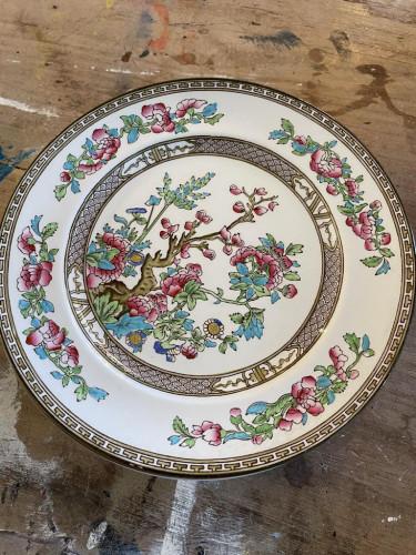 Bridgwood Indian Tree Plates (8)