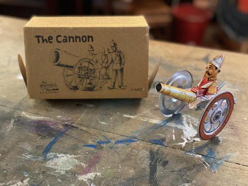 Retro Cannon Wind up