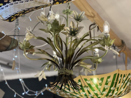 Large Orchid Chandelier