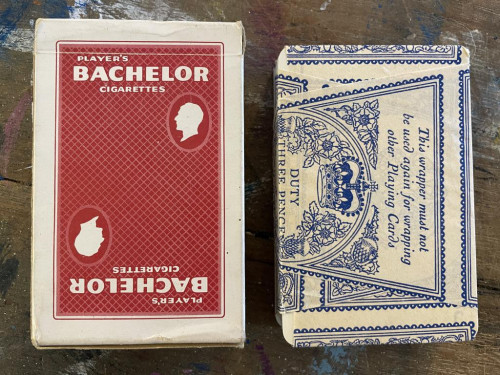 Bachelor Cigarettes Playing Cards Sealed Unopened