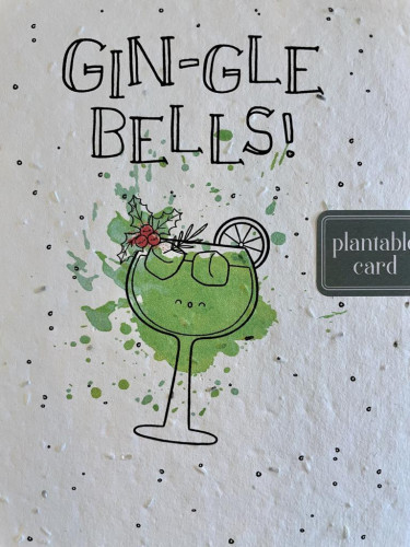 Plantable Seed Card GIN-GLE BELLS