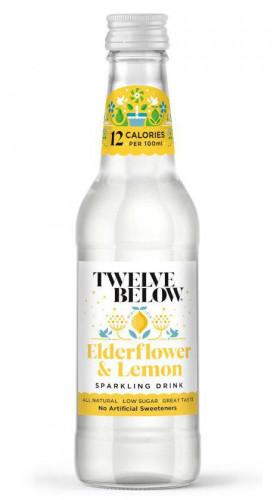 Twelve Below Sparkling Drink Elderflower & Lemon