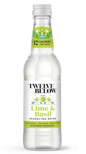 Telve Below Sparkling Drink Lime & Basil