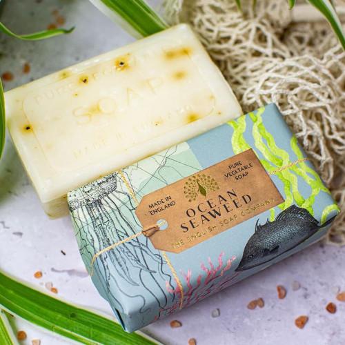 Ocean Seaweed Vegetable Soap 200gm