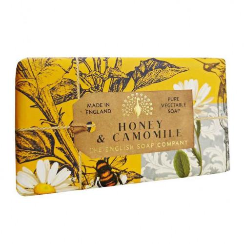 Honey & Camomile Vegetable Soap 200gm
