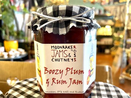 Boozy Plum & Rum Jam 310gm