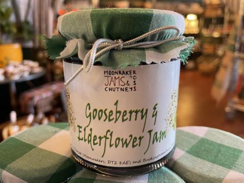 Gooseberry & Elderflower Jam 200gm