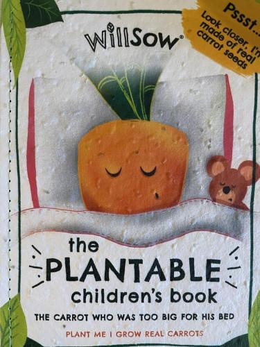 Plantable Childrens Book (Carrots)