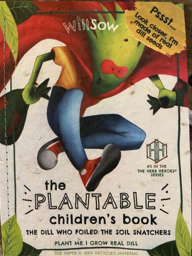 Plantable Children's Book (Dill)