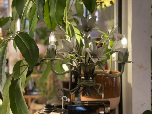 Small Orchid Chandelier