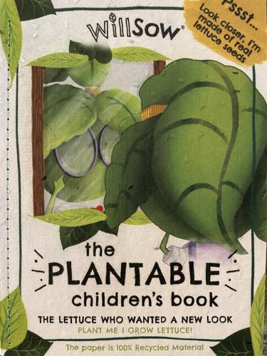 Plantable Children's Book (Luttuce)