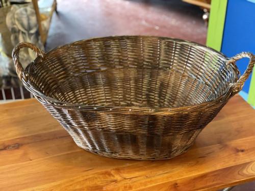 Wicker Log Basket Hamper