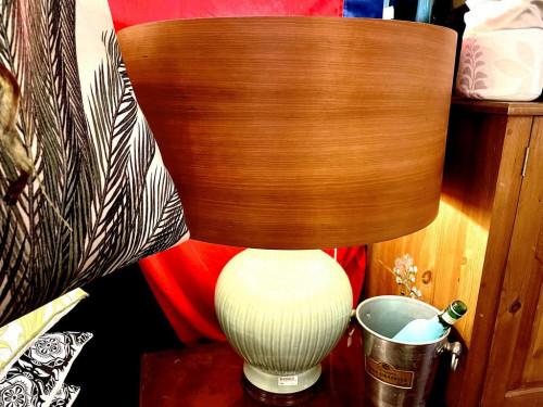 Real Cherry Wood Lamp Shade