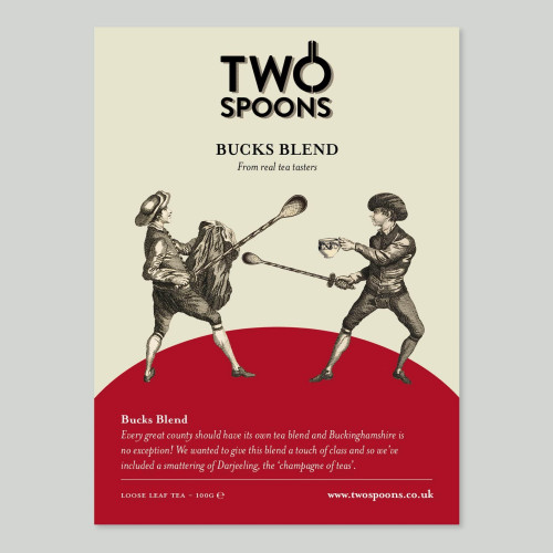 Two Spoons - Loose Leaf Tea 100gm Bucks Blend