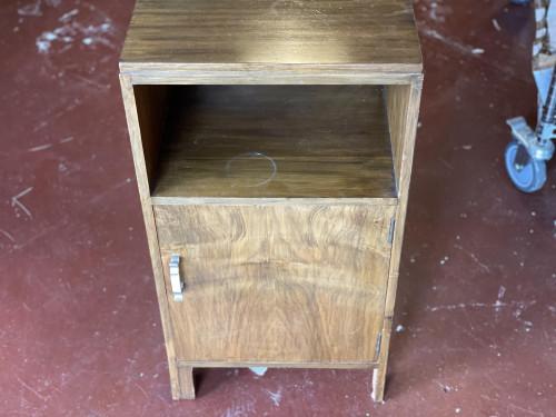 Retro Bedside Table Cabinet