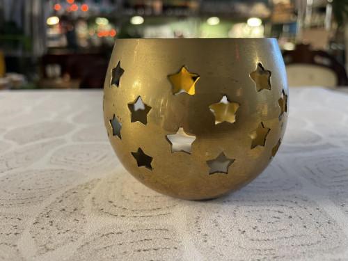 Brass Tea Light Holder