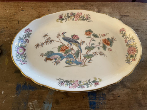Wedgewood Crane Plate