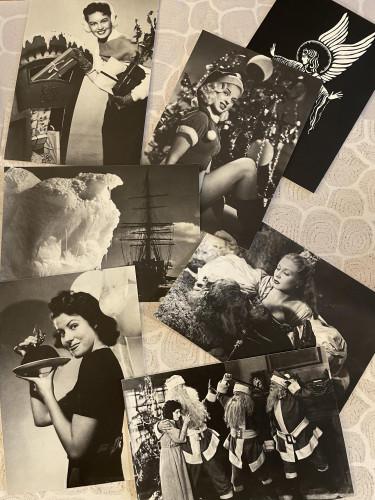 BFI Set of 7 Blank Christmas Cards