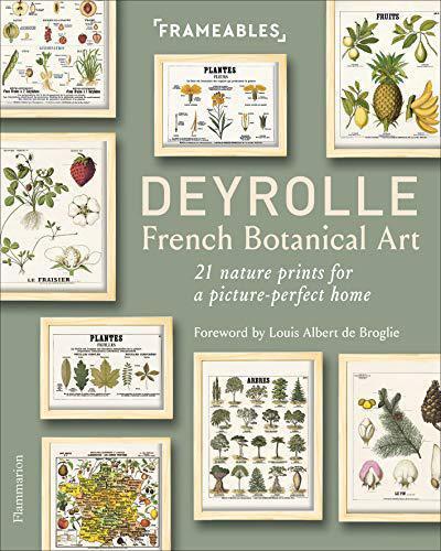 Deyrolle Frameables French Botanical Art