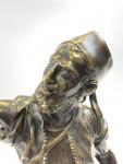 BRONZE SCULPTURE BY PIERRE JULES MÈNE (1810-1879), THE ARAB FALCONER