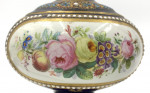 PAIR OF JEWELLED PORCELAIN LAMPS