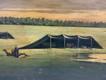 VIEW OF BEDIEH (THE WILDERNESS) , OIL ON CANVAS PAINTING BY ABDUL KADIR AL RASSAM (IRAQ, 1882-1952)