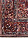 UNUSUAL SIZE, PAIR OF PERSIAN KASHAN RUGS