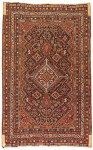 OLD QASHQAI RUG, PERSIA, 19TH CENTURY