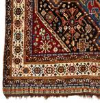 COLOURFUL PERSIAN QASHQAI RUG, 19TH CENTURY