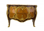 FRENCH LOUIS XV STYLE ORMOLU- MOUNTED COMMODE