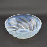 Rene Lalique opalescent Poissons No1 bowl