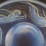Rene Lalique opalescent Ondines Refermee glass bowl