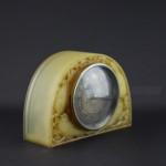 Rene lalique Butterscotch Moineaux clock