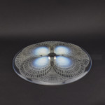 Rene Lalique opalescent coquilles plate no1
