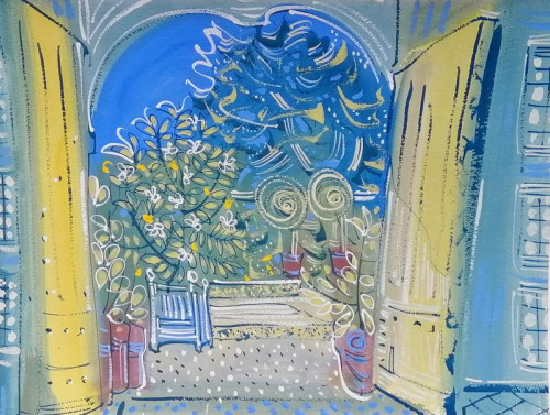 Open Doors at the Orangery, Chateau de St. Loup