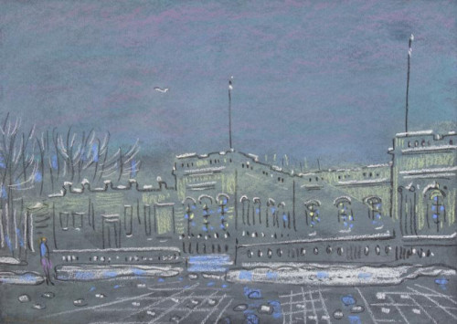 Grand Trianon in Winter