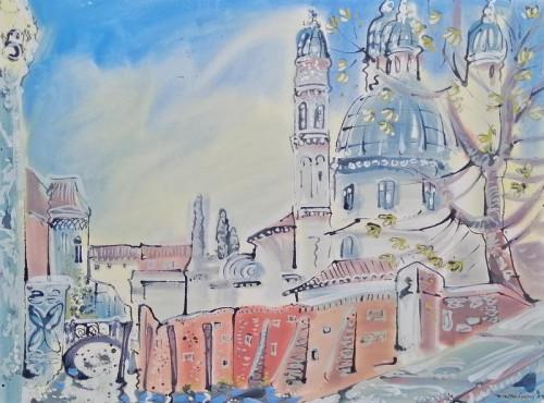 Salute from Giudecca