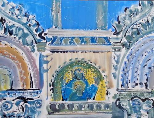 San Marco Detail of Facade of Loggia dei Cavalli