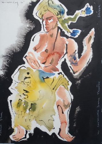 Caracalla Dance Theatre Drummer