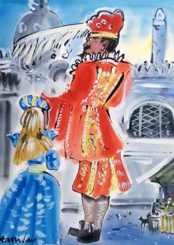 In costume at Carnevale di Venezia II