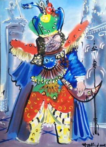 In costume at Carnevale di Venezia VIII